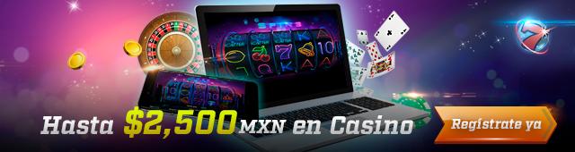 Bono de Bienvenida de Casino